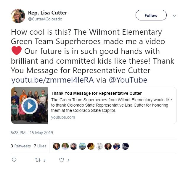 """71534895 You can bet Cutter would NEVER call a student group promoting natural gas  as a safe and cost-effective energy source """"brilliant."""" She wants our  students to ..."""